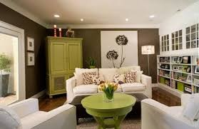 brown livingroom living room impressive green and brown living room throughout