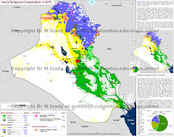 Middle East Religion Map by Map Archives Kurds Ngo