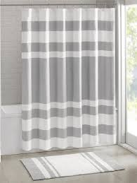 Cassandra Shower Curtain by Amazon Com Madison Park Mp70 1484 Spa Waffle Shower Curtain 72x72