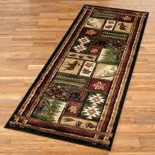 accent rugs and runners cabin chalet rustic area rugs