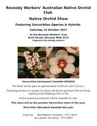 society for growing australian native plants news u0026 events australasian native orchid society inc