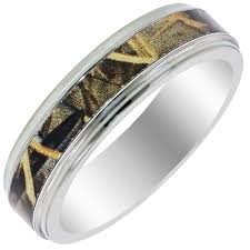 camo wedding ring mens titanium wedding band ring 8mm 7 13 sizes camo camouflage