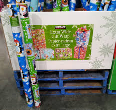 kirkland wrapping paper 12 days of costco christmas day 9 loaded trolley