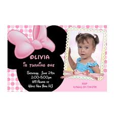 minnie mouse invites 1st birthday 28 images minnie mouse 1st