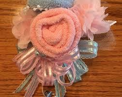 Baby Sock Corsage Baby Sock Corsage Handmade Baby Sock Shower Corsage Baby