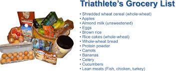 grocery list for thanksgiving dinner triathletes grocery list for everyday nutrition