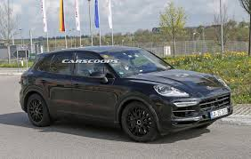 Porsche Macan Facelift - scoop porsche says nein to buttons for 2018 cayenne u0027s cabin