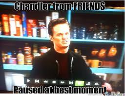 Chandler Meme - chandler from friends by kostakillos meme center
