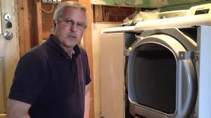 clothes dryer front panel removal samsung dv5451agw xaa01 youtube