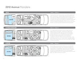 class b rv floor plans 2012 airstream avenue class b motorhome