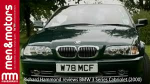 bmw 320i convertible review richard hammond reviews the bmw 3 series convertible 2000