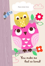 Latest Mother S Day Cards Two Owls Customizable Mother U0027s Day Card For Grandma Greeting