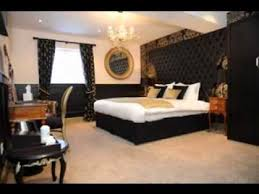 Black And Gold Bedroom Ideas RacetotopCom - Black and gold bedroom designs