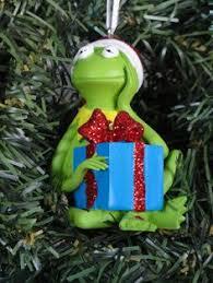 blown glass muppets kermit ornament find seasonal decorations at