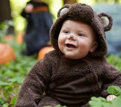 Brown Bear Halloween Costume Baby Puffy Bear Costume Pottery Barn Kids