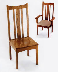 Amish Chair Amish Vertical Slat Backed Chairs