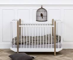 Crib To Bed Furniture Oliver Furniture Wood Cot Inhabitots