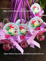 12 ariel baby shower favors princess ariel baby shower