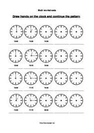 clock quarter pattern u2013 5 pages u2013 planet psyd