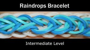 rainbow loom raindrops bracelet youtube