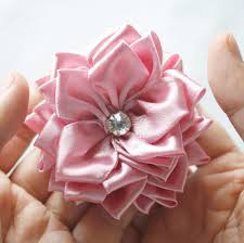 ribbon fabric how to make fabric flowers and ribbon flowers with the sweet