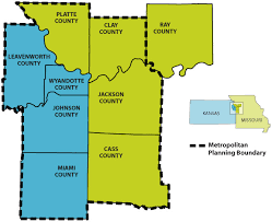 map of counties in kansas kansas city region