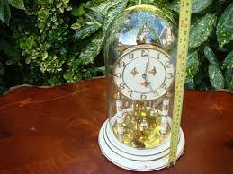 Antique Mantel Clocks Value Antique Vintage Old West German Kundo Anniversary Dome Mantle