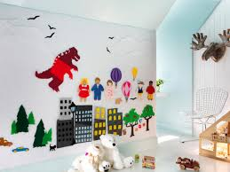 Cool Wall Designs For Between  Including Kids Bedroom Images - Childrens bedroom wall designs