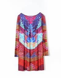 2017 Fashion Color Aliexpress Com Buy Autumn Dress Women 2017 Loose Long Sleeve