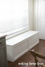 How To Make A Banquette Bench How To Build A Window Seat With Storage Diy Tutorial