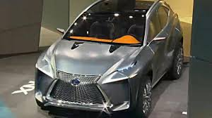 lexus lf nx lexus lf nx production version due in geneva will retain