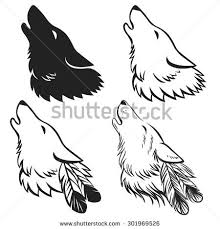 howling wolf stock images royalty free images u0026 vectors