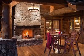 log home interiors yellowstone log homes