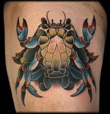 crab tattoo art and designs page 11