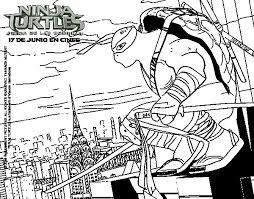 teenage mutant ninja turtles michelangelo coloring pages online