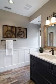 bathroom with wainscoting ideas bathroom wainscoting height bathrooms