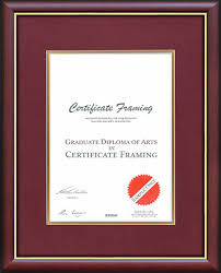 certificate frame a4 certificate frames handmade for your a4 documents