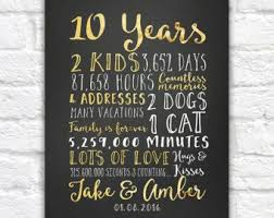 10 year anniversary gifts for him best 25 10th anniversary gifts ideas on 10 year