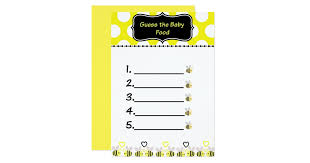 baby shower guessing baby shower guessing invitations announcements zazzle