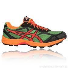 light trail running shoes cheaply orange asics gel fujifell racer 2 trail running mens running