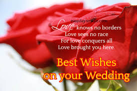 marriage greetings top wedding wishes and messages easyday