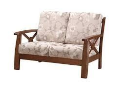 divanetti due posti divano due posti in legno e tessuto oxford divanetto 2