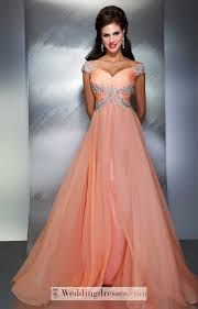 absorbing abest selling off the shoulder a line beaded prom