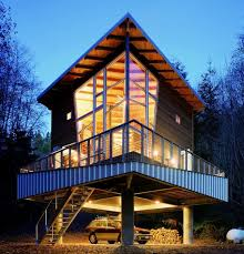 how to go about building a house homes on stilts insteading