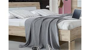 Schlafzimmer Bett 160x200 Winner Schlafzimmerbett In San Remo Eiche Weiß 160x200