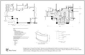 dimensioned floor plan captivating reception desk plans design ideas best idea home