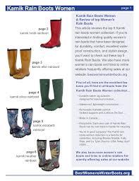 s kamik boots size 9 kamik boots