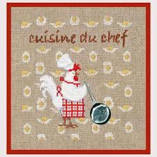 point de croix cuisine kit de broderie au point de croix points comptés cuisine cuisine