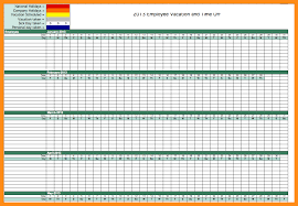 Employee Vacation Accrual Spreadsheet 15 Vacation Accrual Spreadsheet Abstract Sle