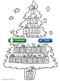 christmas tree coloring sheets christmas lights decoration
